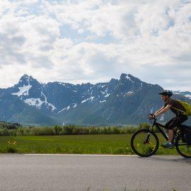 Noorwegen - Lofoten fietsvakantie
