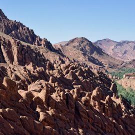 Marokko - Dadès-vallei